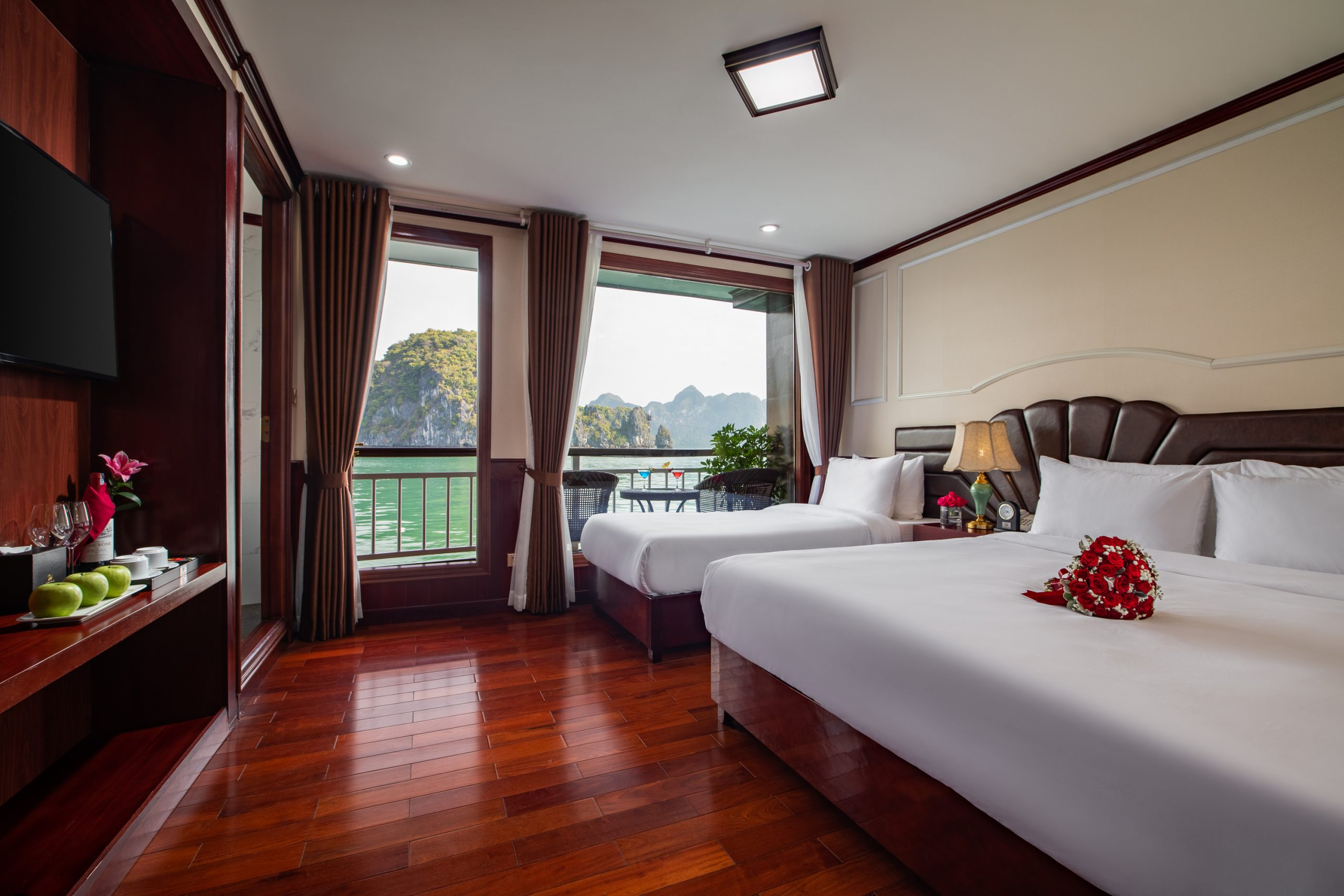 Junior Suite Triple Sea View With Private Balcony