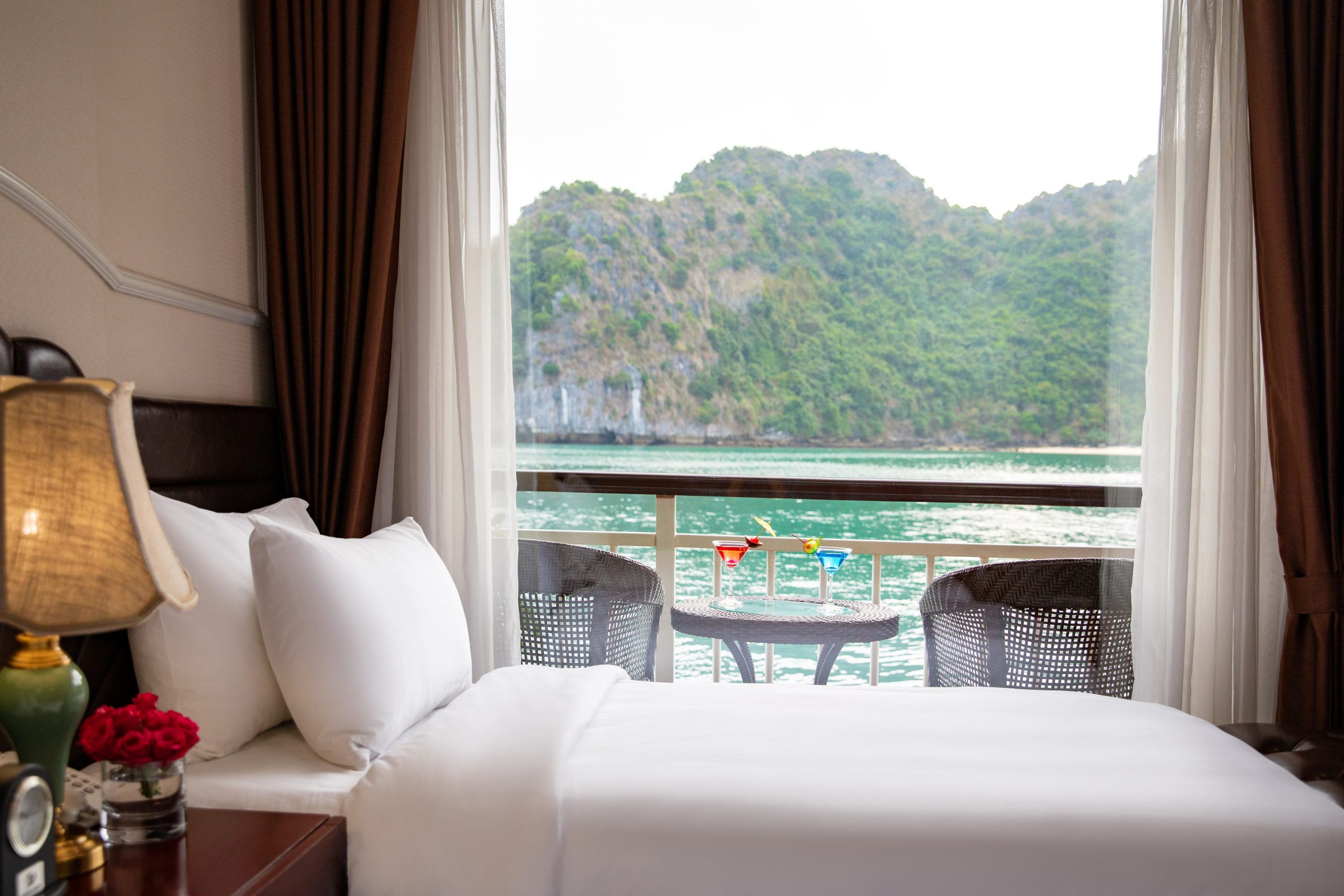 Junior Suite Twin Sea View With Private Balcony